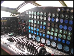 B-36 Flight Engineers Panel (Dusty_73) Tags: castle museum airplane aircraft aviation air flight cockpit atwater peacemaker bomber usaf engineer warbird b36 convair