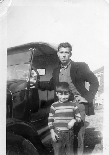 Granddaddy & Uncle Bill, Augusta, Georgia, circa early 1950s, photo © 2008 by QuoinMonkey. All rights reserved.