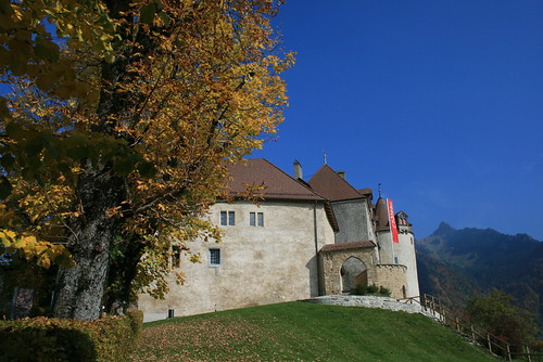 The Gruyères Chateau