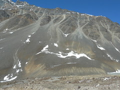 Sand and snow (Anks) Tags: india snow mountains sand himachalpradesh lahaul