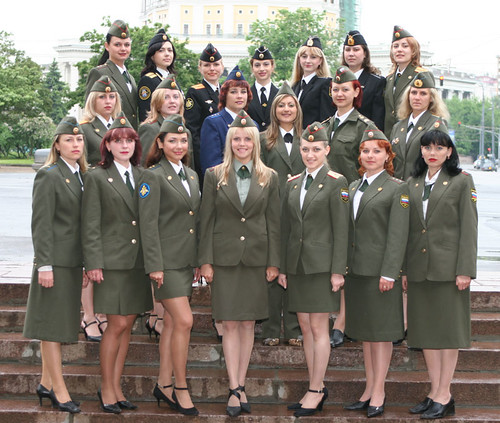 DMP-F39 FEMALE RUSSIAN SOLDIERS by damopabe.