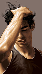Kaka Art (Mel Marcelo) Tags: portrait face vectorart tanktop kaka gq grafx adobeillustrator braziliansoccer melmarcelo prosoccerplayer ricardoizecsonsantosleite meltendo mpyregraphics melitomarcelo