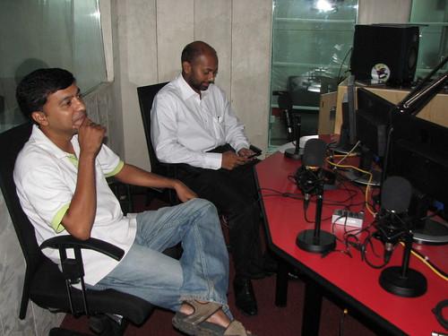 Chennai Runners at Chennai Live 104.8FM