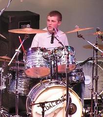 Meeee (DPhelps) Tags: rock drums concert band drumming la2915dylan dphelps