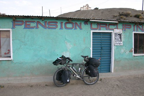 The pension that never was. Leque Palca, Bolivia.