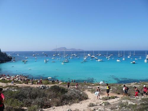 Sicilia isola di Favignana - agosto 2008