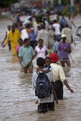 Hurricane Hanna in Haiti