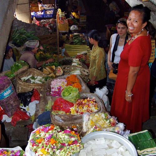 Einkauf auf dem Markt