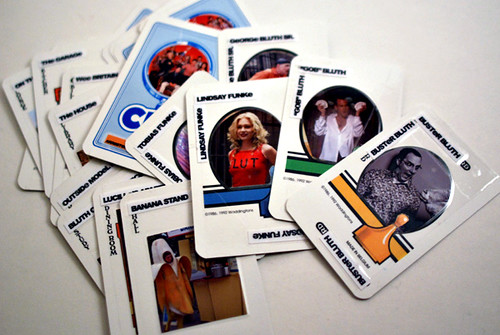 Clue: The Arrested Development Edition cards