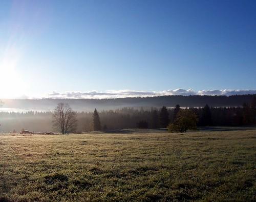 Les Franches-Montagnes ce matin
