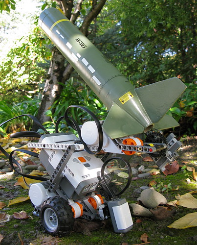 Mobile Robotic Rocket Launcher