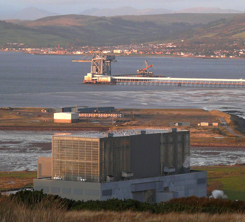 Hunterston and Clydeport in late sun