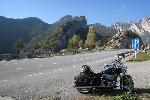 Les Pyrénées, en montant vers Puigcerdà (Espagne