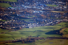 Kendal  from above the Lyth Valley