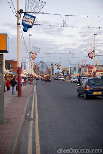 Blackpool Promenade.