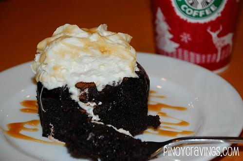 Molten Chocolate Cake @ Starbucks 3