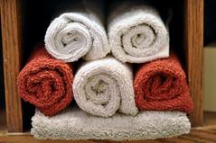 new towels (puremotif) Tags: bathroom towels accessories showercurtain