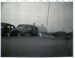 Some people never give up - Christmas Eve 1972 (a59rambler) Tags: friends 1970s buddy polaroid 20thcentury