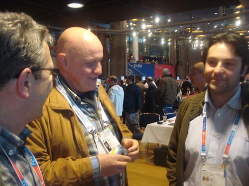 Conversant amb el periodista Leontxo Garcia