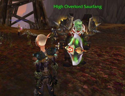 Saurfang in the Field