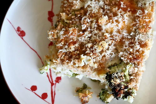 Cheesy Sausage, Broccoli & Brown Rice Casserole