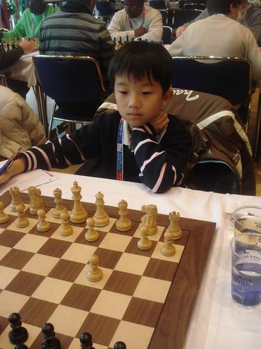 Chen Yan Fong de Taipei, el més jove del torneig!