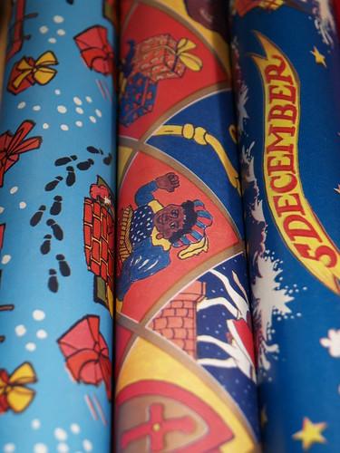 Sinterklaasinpakpapier