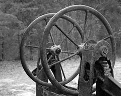 Fire and Rain (scottnj) Tags: abandoned newjersey iron wheels nj rusty oxidation decayed oxidized otw scottnj