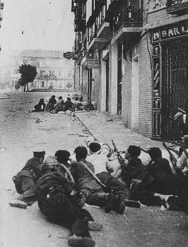 Combates en la Cuesta de las Armas, Toledo. 22 de julio de 1936.