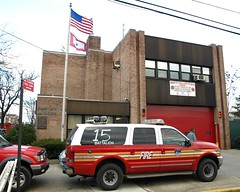 E063 FDNY Firehouse Engine 63, Ladder 39 & Battalion 15, Wakefield, Bronx, New York City (jag9889) Tags: county city nyc house ny newyork building car station architecture truck fire automobile bronx engine 15 63 company transportation vehicle wakefield borough warriors ladder firehouse suv 2008 fdny 39 firefighters bravest battalion e063 y2008 engine63 ladder39 topofdabronx battalion15 jag9889