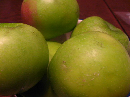 Pretty Green Apples!
