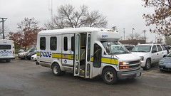 2001 Chevrolet Paratransit bus # 5001. Glenview Illinois. November 2008.