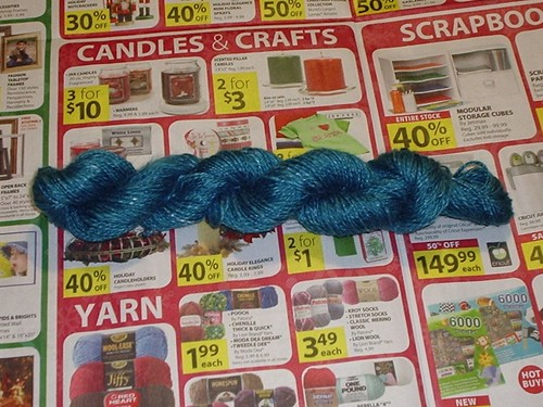 Cookie Monster Yarn
