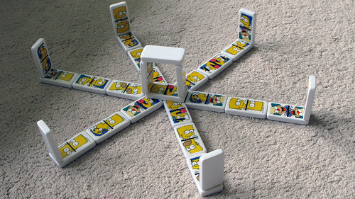 How *my* kid plays with dominoes