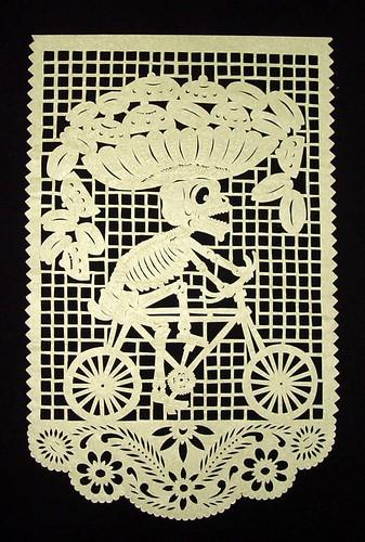 Bicycle Skeleton - San Salvador Huixcolotla