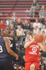 081115 Lincoln Co WBB vs Iroquois (17) (Steve@CKYSports.com) Tags: county basketball lincoln iroquois