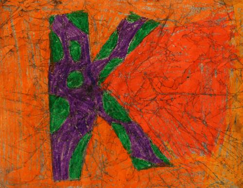 Khadijah's crayon crackle