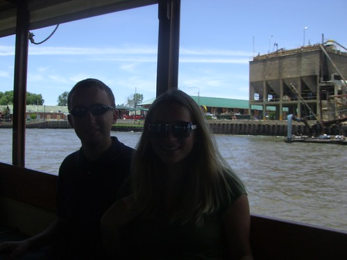 On the boat in Tigre