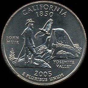 25 Cents USA 2005 California