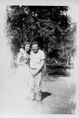 (rachelakelso) Tags: bw love couple grandparents oldfamilyphotos maternalancestors