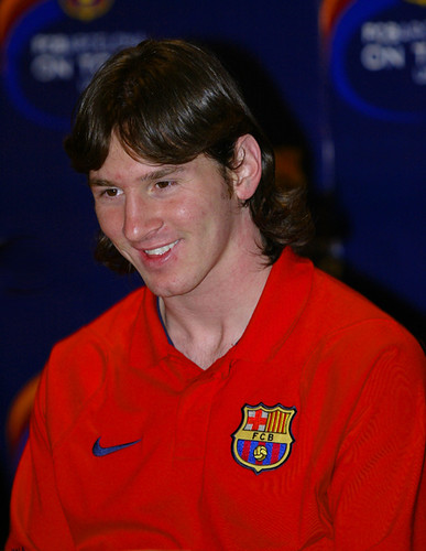 Soccer Superstar Leo Messi