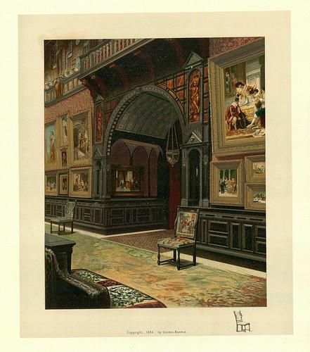 024- Vista parcial de la galeria de cuadros o pinacoteca
