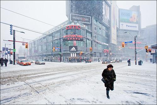 December @ Dundas Square, Toronto