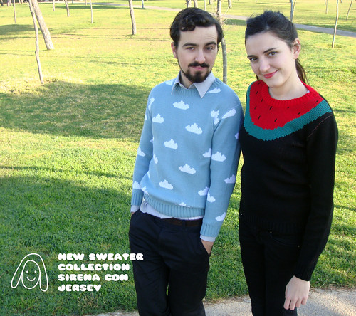 New sweater collection by Sirena con Jersey
