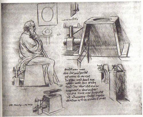 Dibujo perdido de Leonardo da Vinci