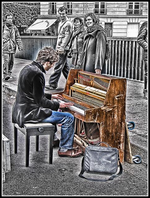 The Pianist - Paris