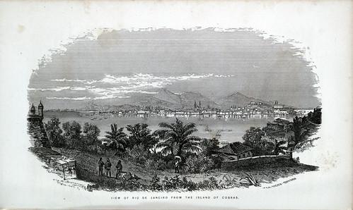 002- Vista de Rio de Janeiro desde la isla de Cobras