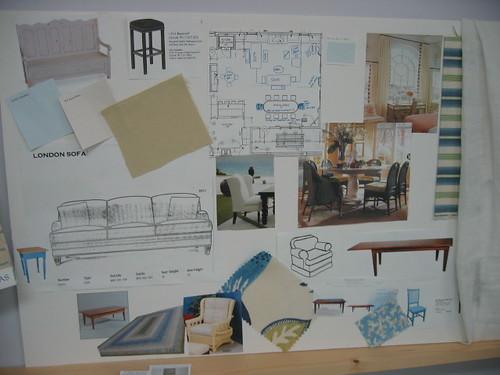 Designer's Sample Board Example