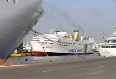 Greece Piraeus 2008 (Chris&Steve) Tags: marine ship v100 vessel greece maritime nautical shipping 2008 piraeus p100 ellda  hells hellenicrepublic 10millionphotos piae   ellnikdmokrata elinikiimokratia