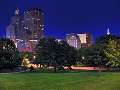 Hartford, CT Skyline (rm996s) Tags: park city colors skyline night view capital ct hartford conn hartfordskyline